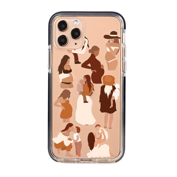 Mothers Love Impact iPhone Case