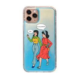 Problems Neon Sand iPhone Case