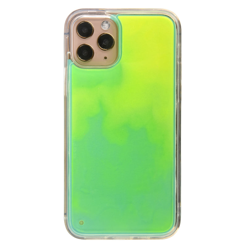 Custom Neon Sand iPhone Case