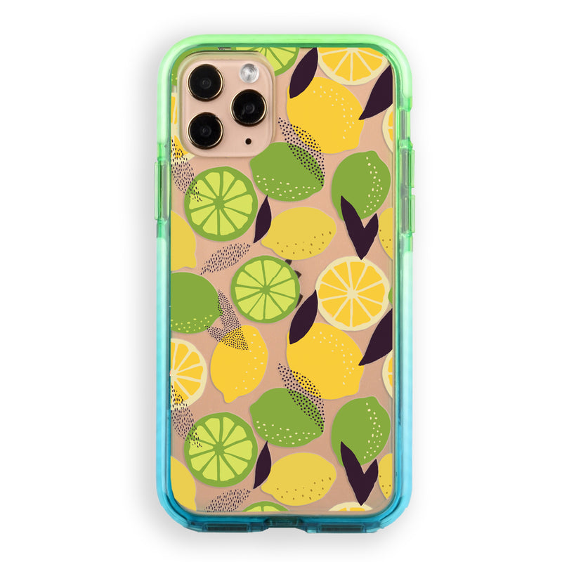 Lemons and Limes Impact iPhone Case