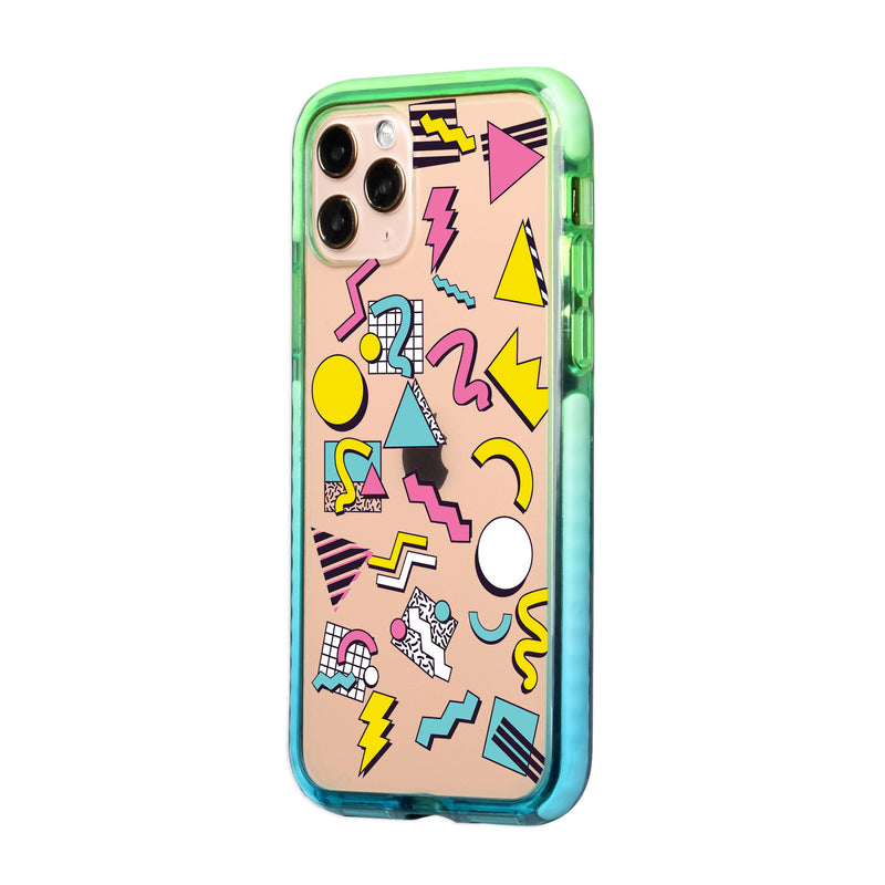 Retro Abstract Art iPhone Case