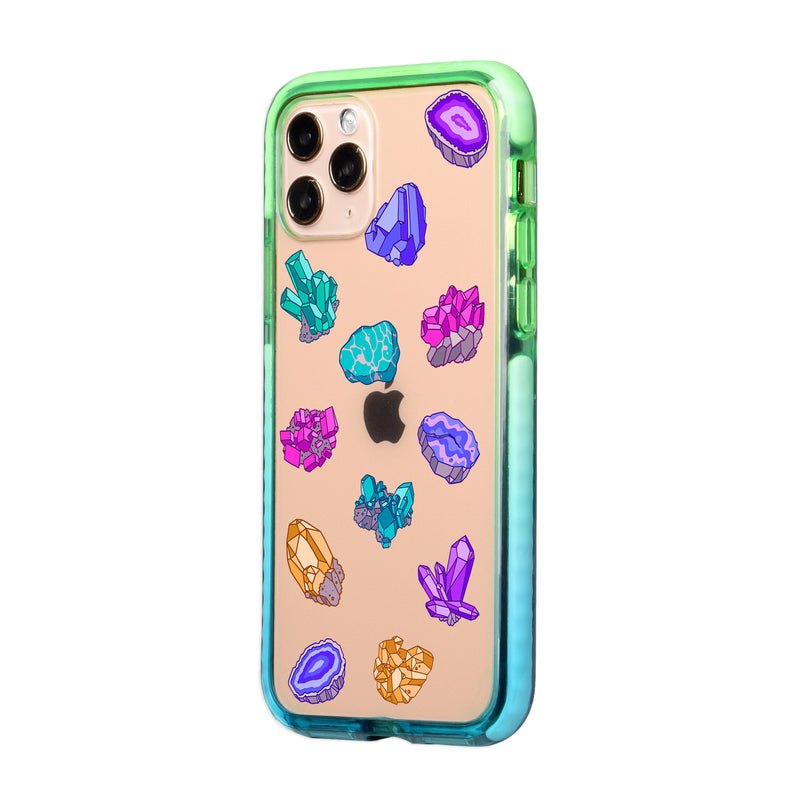 Healing Crystals iPhone Case