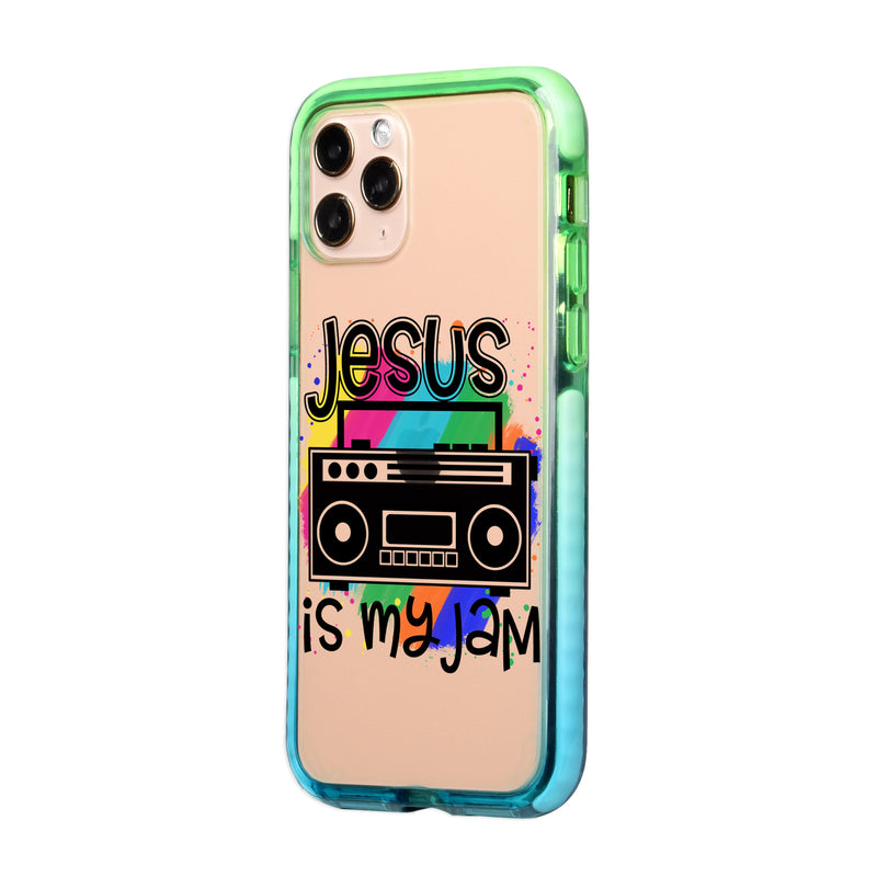 Jesus is my jam iPhone Case