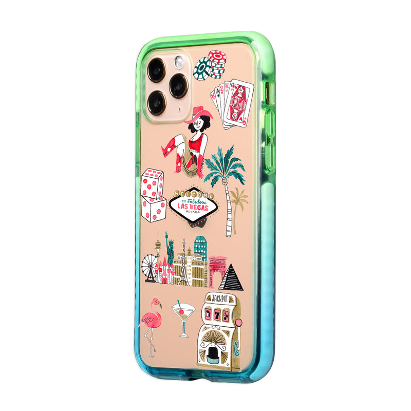 Las Vegas Travel Collage iPhone Case