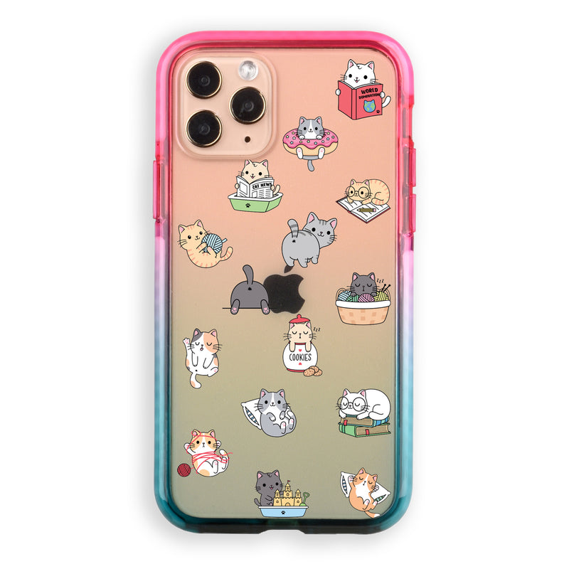 Funny Kawaii Kittens iPhone Case