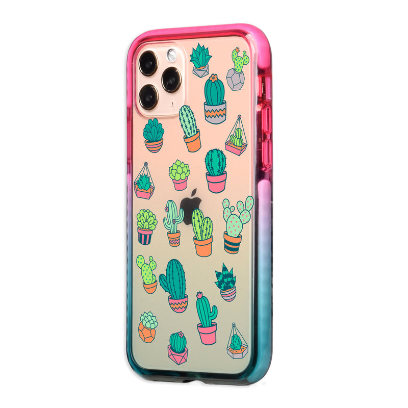 Colorful Cacti iPhone Case