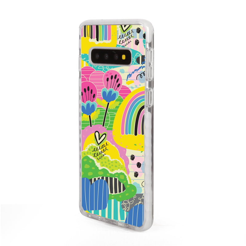 Rainbow Patches Samsung Case