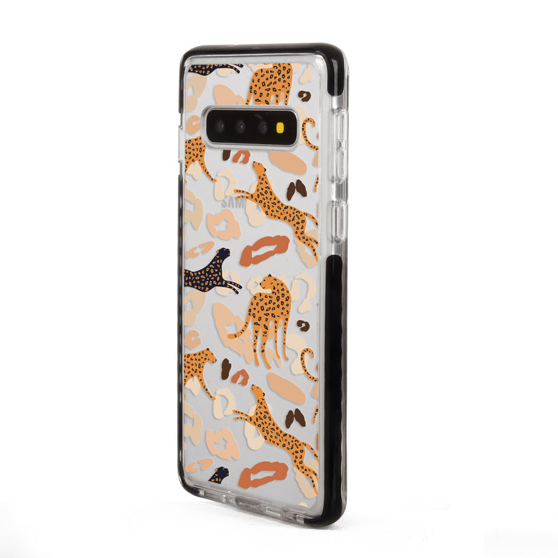 Abstract Leopard Samsung Case