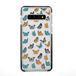 Colorful Aesthetic Butterflies Samsung Case