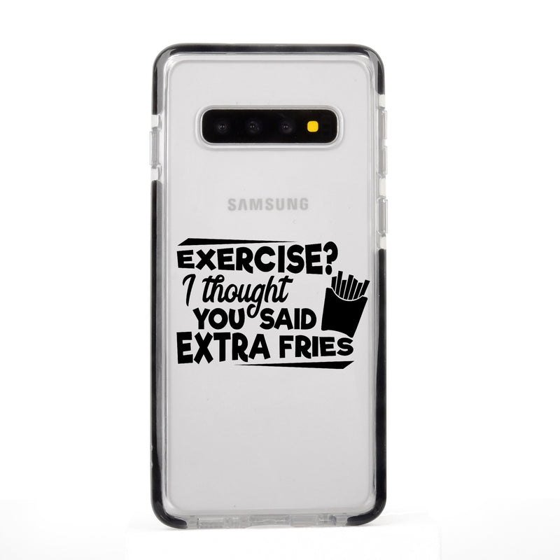 Extra Fries Quote Samsung Case