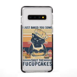Funny Cat Baking Samsung Case