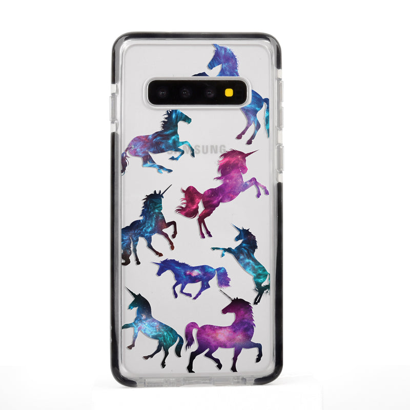Gradient Unicorns Samsung Case