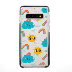Weather Kids Impact Samsung Case