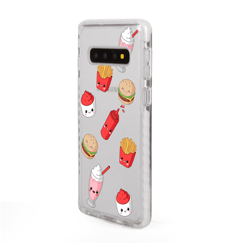 Burger Fries Shakes Samsung Case