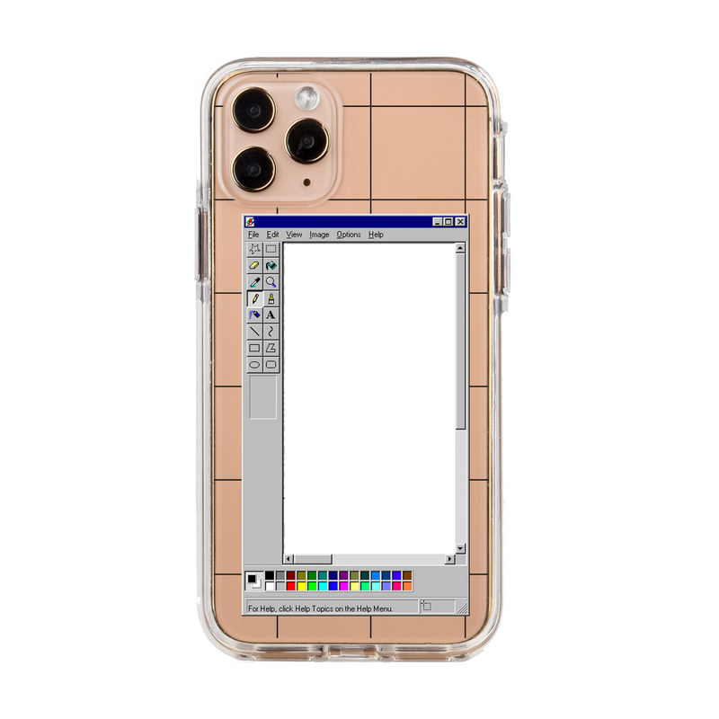Custom Retro Frame 1-Photo Phone Case