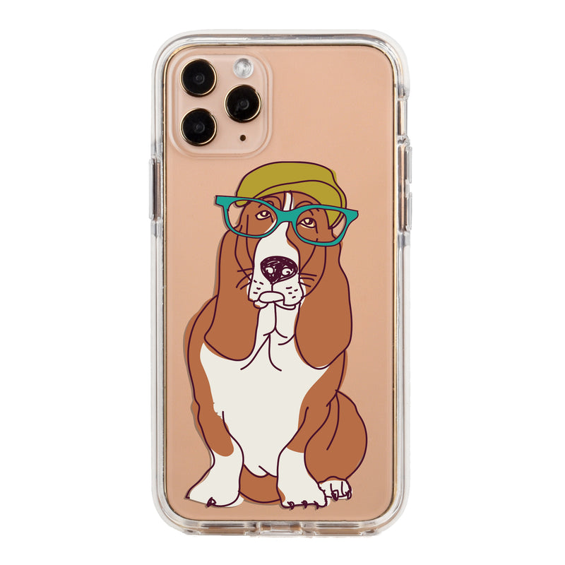 Basset Hound Impact iPhone Case