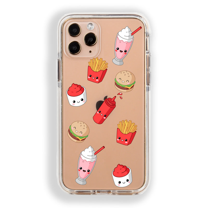 Burger Fries Shakes iPhone Case