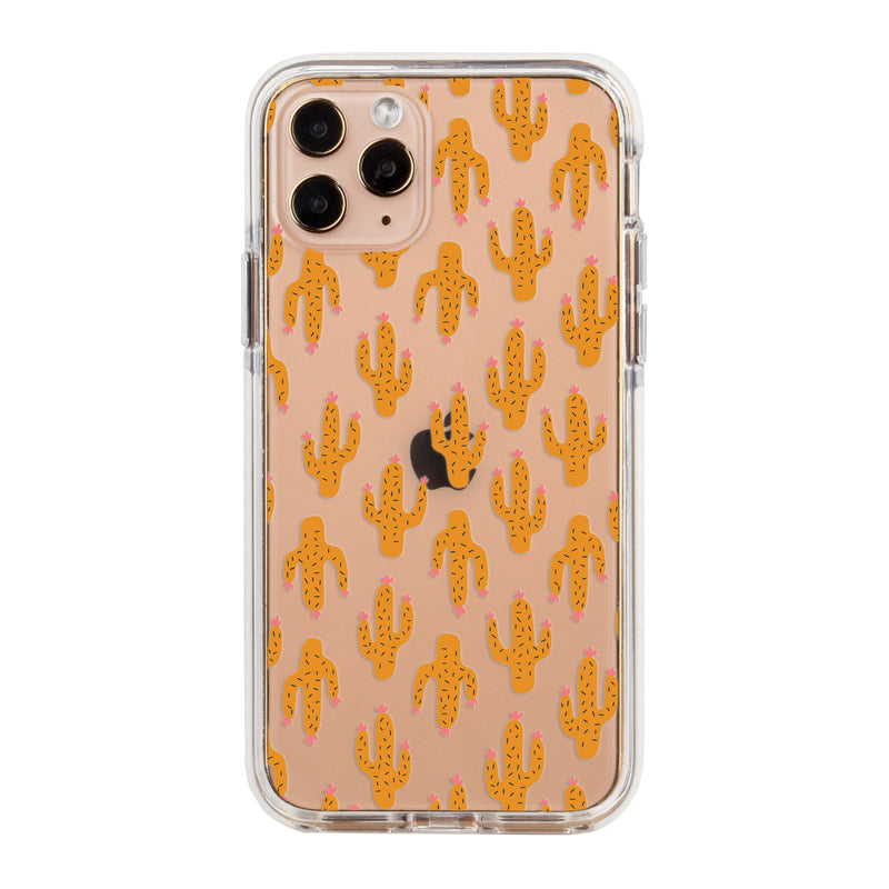 Cacti Garden Impact iPhone Case