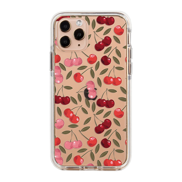 Cherries Impact iPhone Case