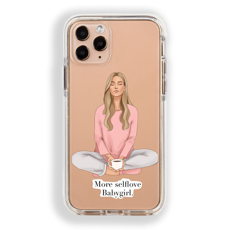 Meditation- Self Love iPhone Case