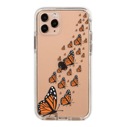 Monarch Butterflies Impact iPhone Case
