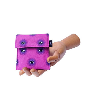 Mini Wallet - Third Eye Magenta