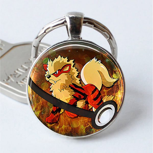 Arcanine Pokemon Key Chain