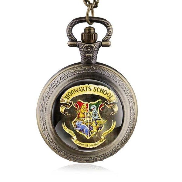 Hogwarts logo Pocket Watch