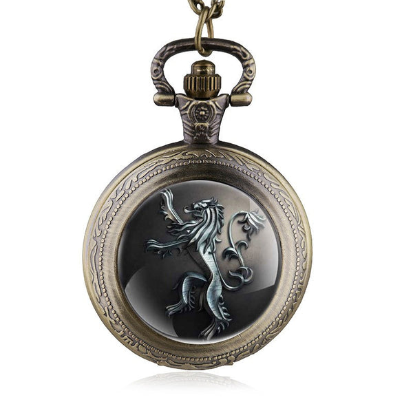 Harry Potter Lion Pocket Watch