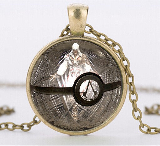 Assassin's Creed Pokemon Pendant