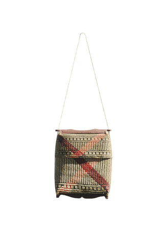 Gandek Bag - Large - Blue - bamboo bag - marbaii