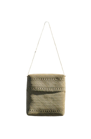 Tasbuku Bag - Large - Black - bamboo - marbaii