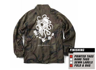 Lewd OG Camo [Coach Jacket]
