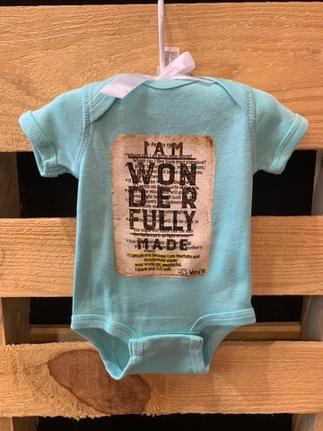 """In His Love"" Scripture Onesie"