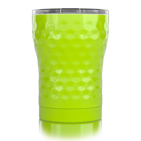 """12 oz. Neon Yellow Dimpled Golf®"""