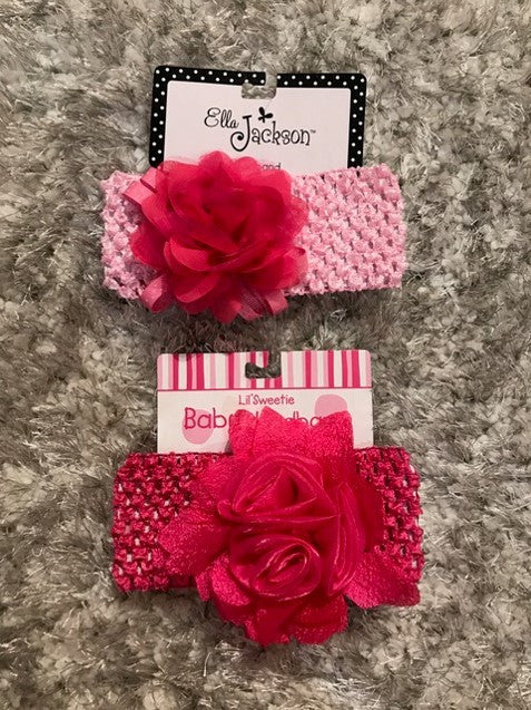 8a04ad7aa2e Light Pink with Hot Pink Bow Headband – Miss Priss Boutique
