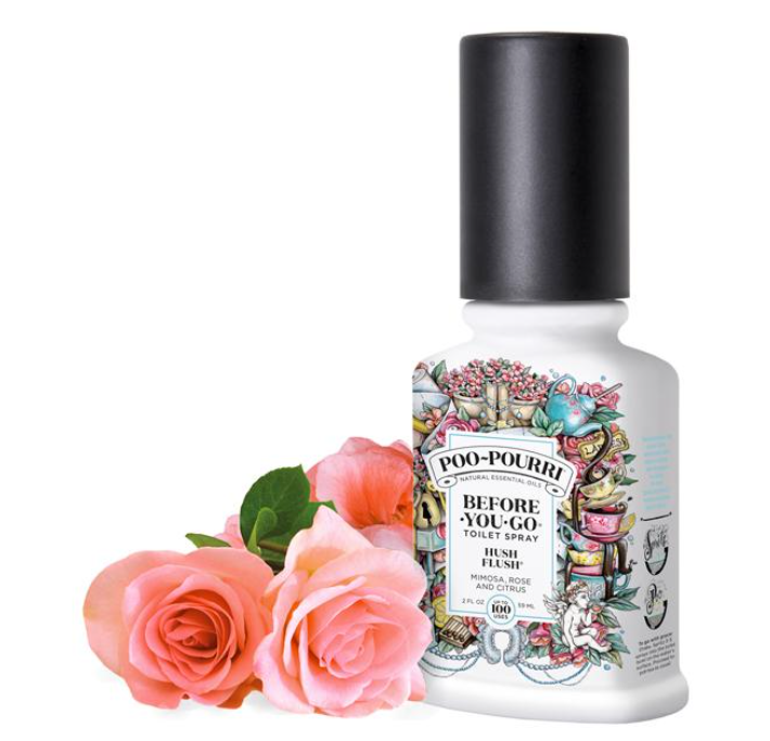 """Poo-Pourri Hush Flush"" 