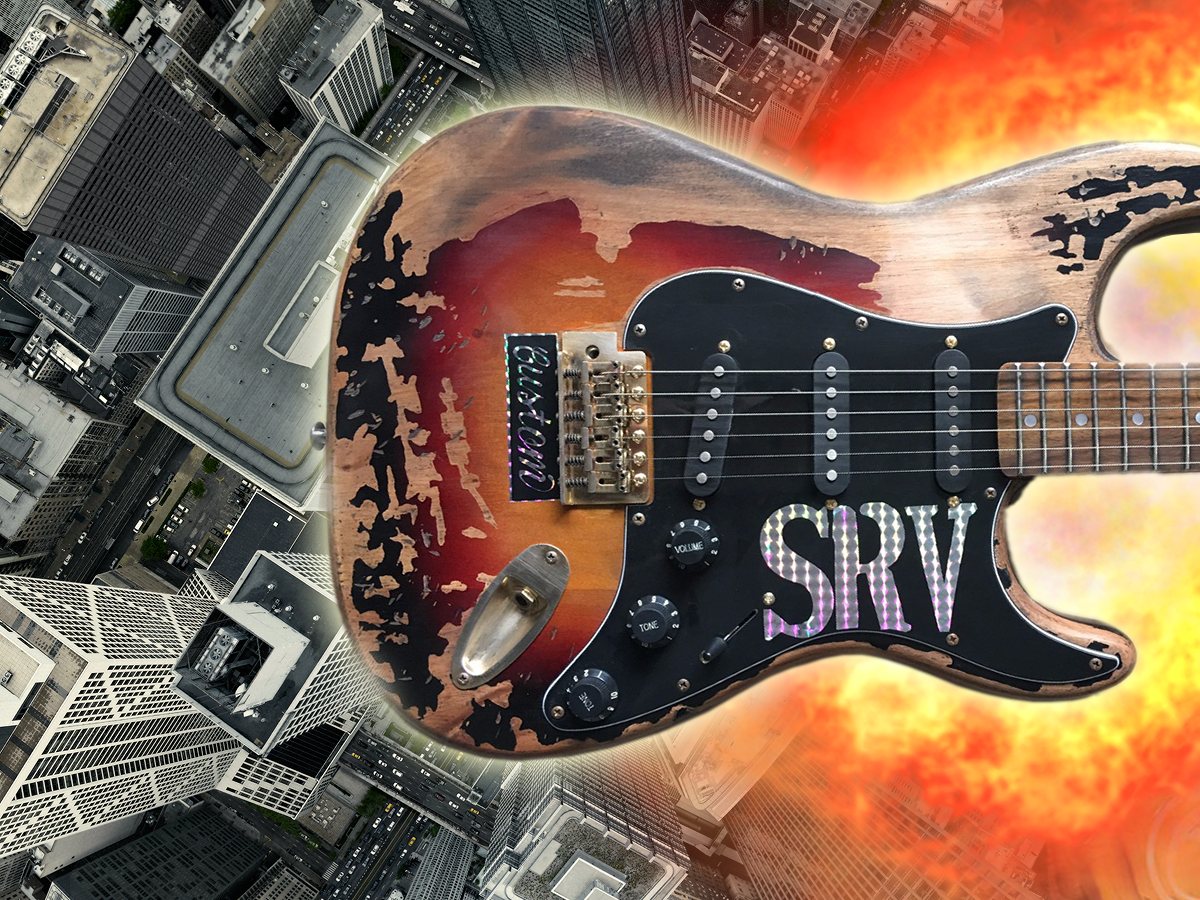 The Sunfield Artist Series SRV ST Electric Guitar