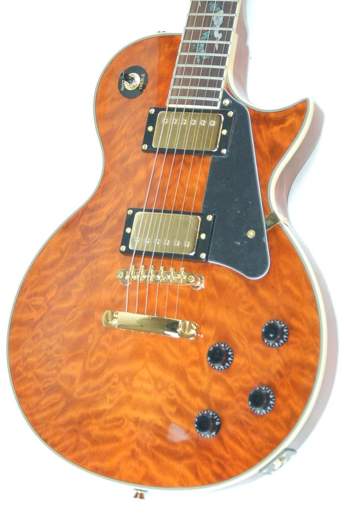 OE20 Serpentine Quilted Tiger LP Style Electric Guitar