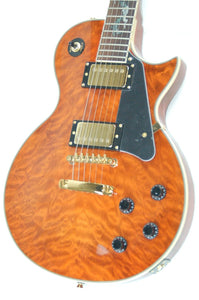 OE20 Cognac Serpentine LP Style Electric Guitar