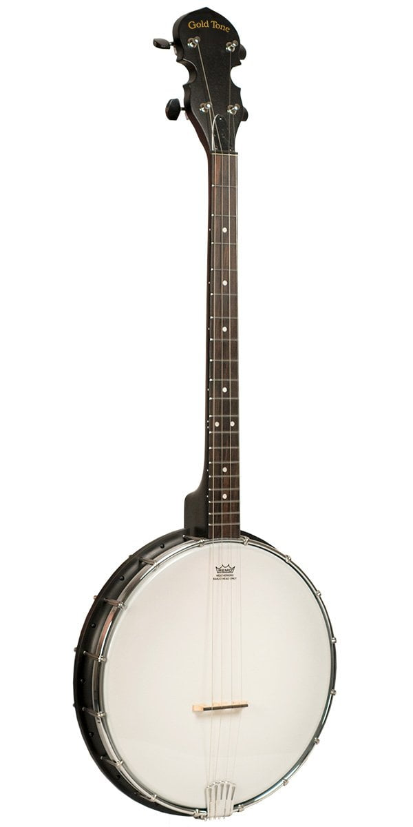 AC-4 Acoustic Composite 4-String Openback Irish Tenor Banjo For Left Hand Players