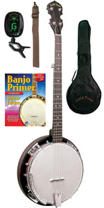 Cc-Bg Beginners Bluegrass Banjo Package For Left Hand Players