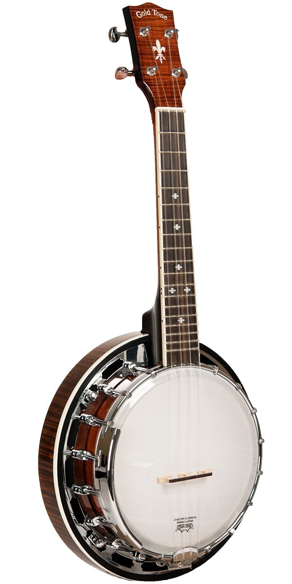 Concert Scale Professional Banjo Ukulele With Resonator For Left