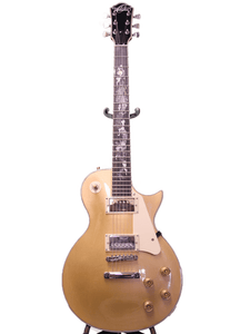OE20 Goldtop Serpentine LP Style Electric Guitar