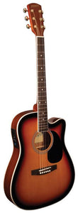 Thin Body Vintage Burst Acoustic/Electric