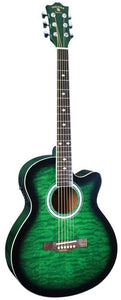 Madison Acoustic/Electric Green