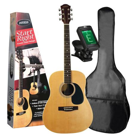 Indiana Acoustic Guitar Package