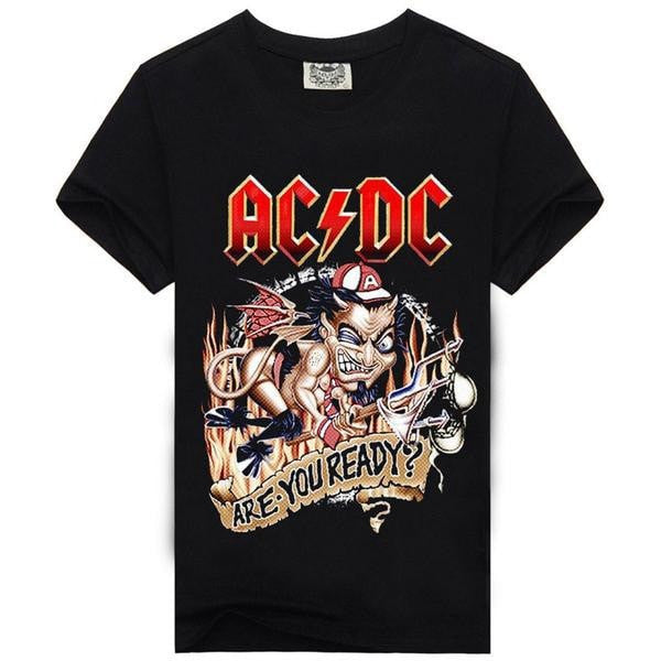Are You Ready AC/DC T-Shirt + 5 Other Styles - Sunfield Music