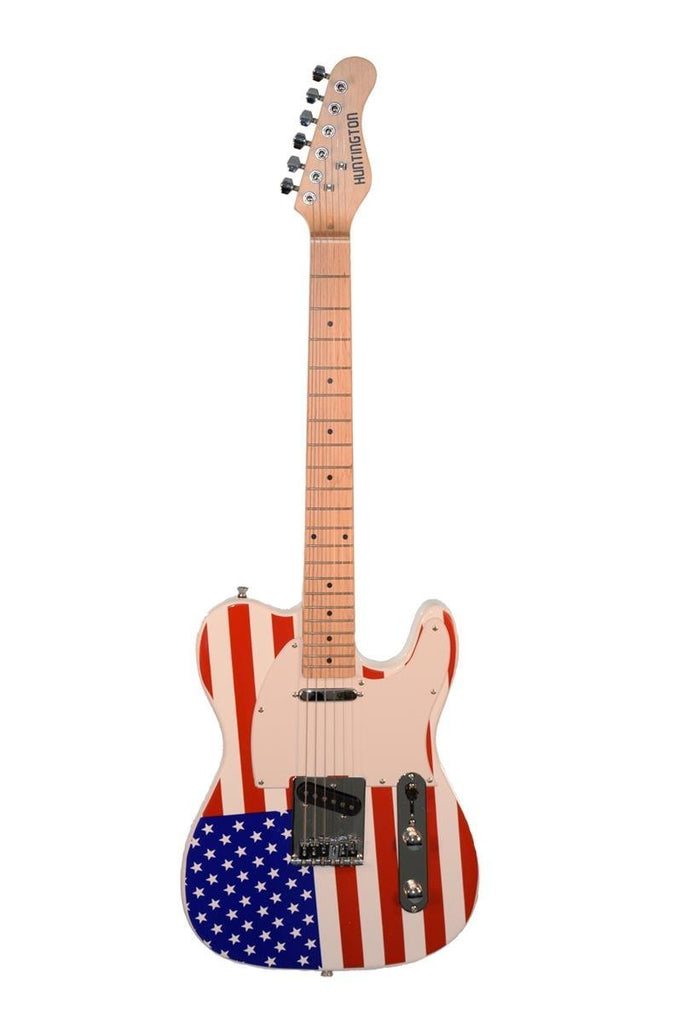 American Flag TL Style Electric Guitar