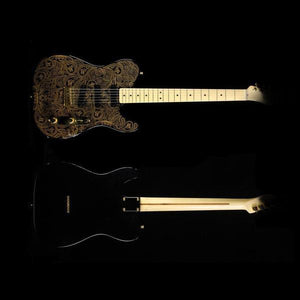 Burton Gold Paisley TL Style Electric Guitar